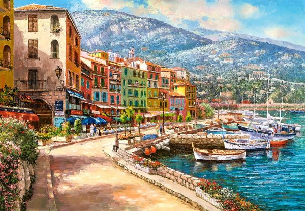 Castorland151745 2 The French Riviera 01 Legpuzzels