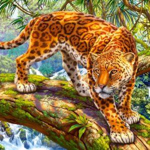 Castorland151752 2 Sneaking Jaguar 01 Legpuzzels