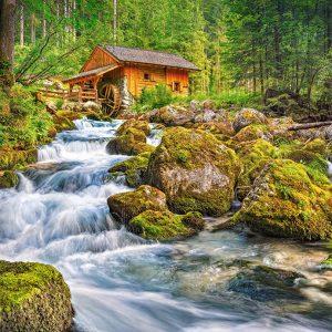 Castorland151783 2 Watermill 01 Legpuzzels