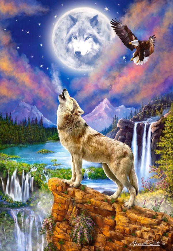 Castorland151806 2 Wolf S Night 01 Legpuzzels