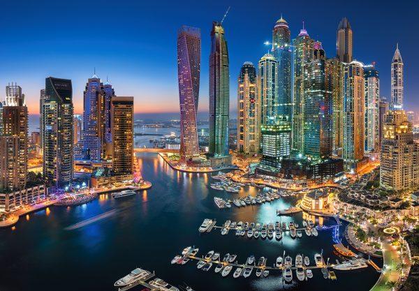 Castorland151813 2 Skyscrapers Of Dubai 01 Legpuzzels