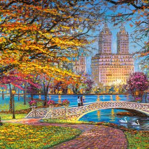 Castorland151844 2 Autumn Stroll Central Park 01 Legpuzzels