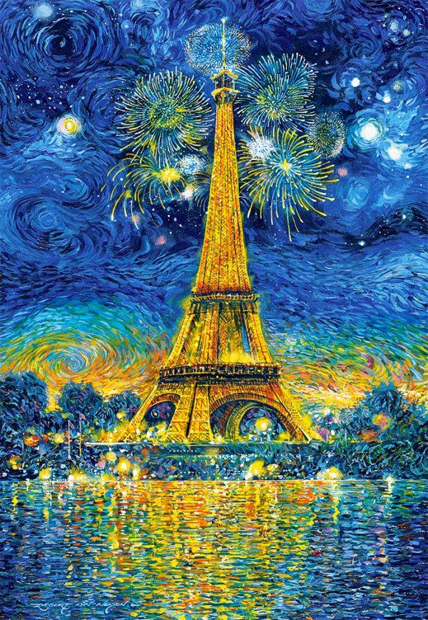 Castorland151851 2 Paris Celebration 01 Legpuzzels