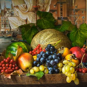 Castorland151868 2 Still Life With Fruits 01 Legpuzzels