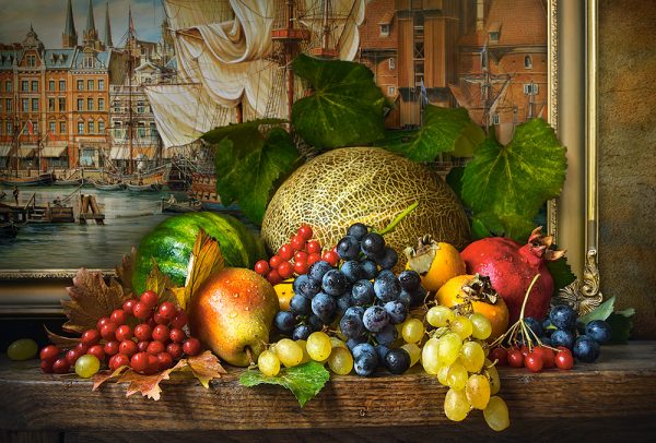 Castorland151868 2 Still Life With Fruits 01 Legpuzzels