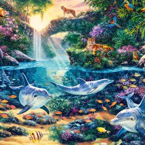 Castorland151875 2 Jungle Paradise 01 Legpuzzels