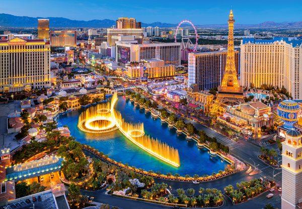 Castorland151882 2 Fabulous Las Vegas 01 Legpuzzels