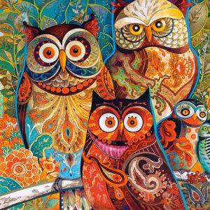 Castorland200535 2 Owls 01 Legpuzzels