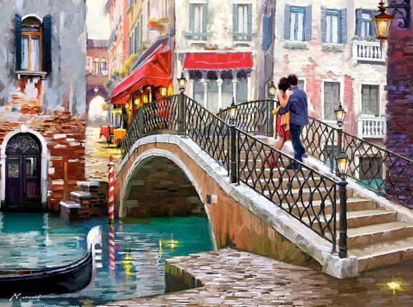 Castorland200559 2 Venice Bridge 01 Legpuzzels