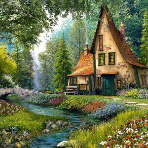 Castorland200634 2 Toadstool Cottage 01 Legpuzzels
