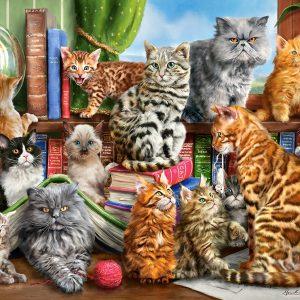 Castorland200726 2 House Of Cats 01 Legpuzzels