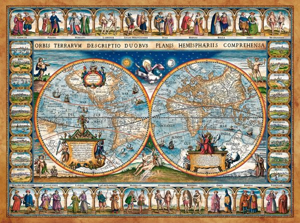 Castorland200733 2 Map Of The World 1639 01 Legpuzzels
