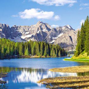Castorland300198 2 Misurina Lake Italy 01 Legpuzzels
