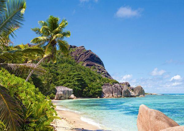Castorland300228 2 Tropical Beach Seychelles 01 Legpuzzels