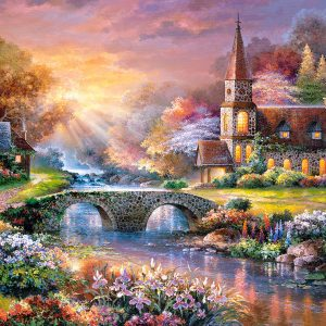 Castorland300419 2 Peaceful Reflections 01 Legpuzzels