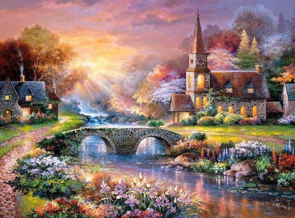 Castorland300419 2 Peaceful Reflections 01 Legpuzzels
