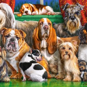 Castorland300501 2 Dog Club 01 Legpuzzels