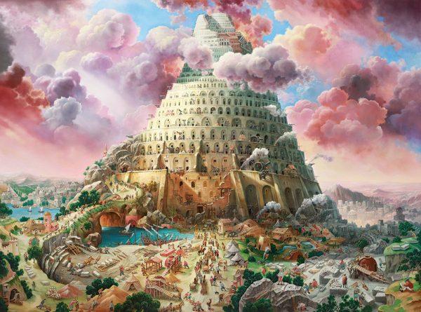 Castorland300563 2 Tower Of Babel 01 Legpuzzels
