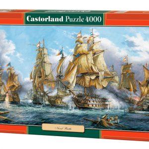 Castorland400102 2 Naval Battle 02 Legpuzzels