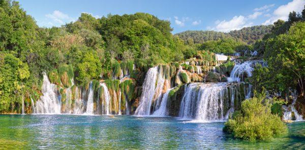 Castorland400133 2 Krka Waterfalls Croatia 01 Legpuzzels