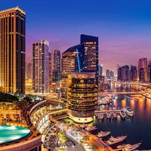 Castorland400195 2 Marina Pano Dubai 01 Legpuzzels
