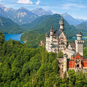 Castorland400218 2 View Of The Neuschwanstein Castle Germany 01 Legpuzzels