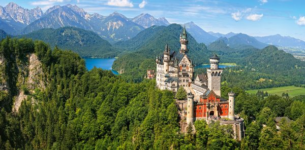 Castorland400218 2 View Of The Neuschwanstein Castle Germany 01 Legpuzzels