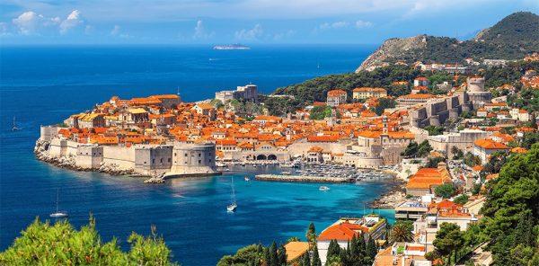 Castorland400225 2 Dubrovnik Croatia 01 Legpuzzels