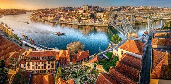 Castorland400232 2 The Last Sun On Porto 01 Legpuzzels