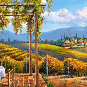 Castorland400249 2 Vineyard Village 01 Legpuzzels