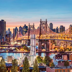Castorland400256 2 Good Evening New York 01 Legpuzzels