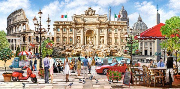 Castorland400270 2 Splendor Of Rome 01 Legpuzzels