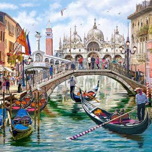 Castorland400287 2 Charms Of Venice 01 Legpuzzels
