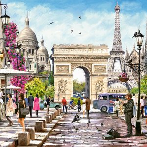 Castorland400294 2 Essence Of Paris 01 Legpuzzels