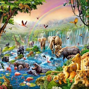 Castorland52141 Jungle River 01 Legpuzzels