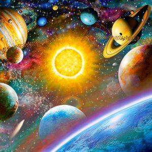 Castorland52158 Outer Space 01 Legpuzzels