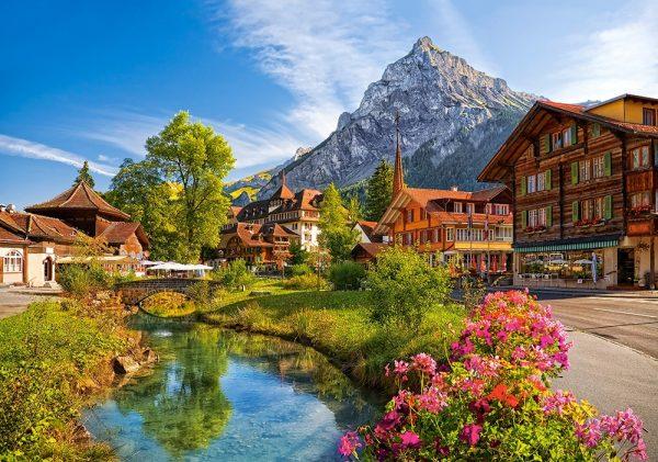 Castorland52363 Kandersteg Switzerland 01 Legpuzzels