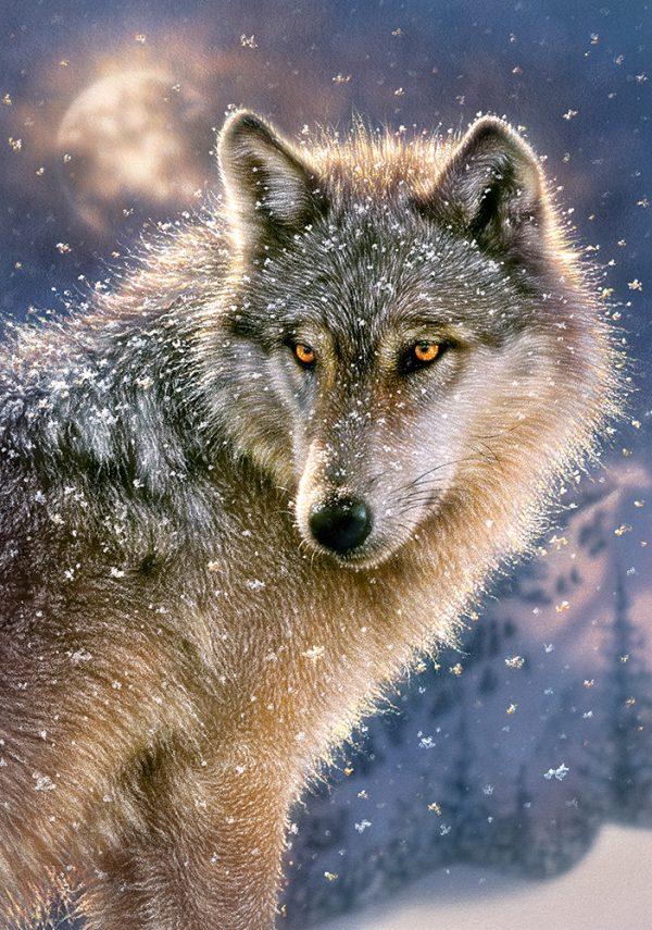 Castorland52431 Lone Wolf 01 Legpuzzels