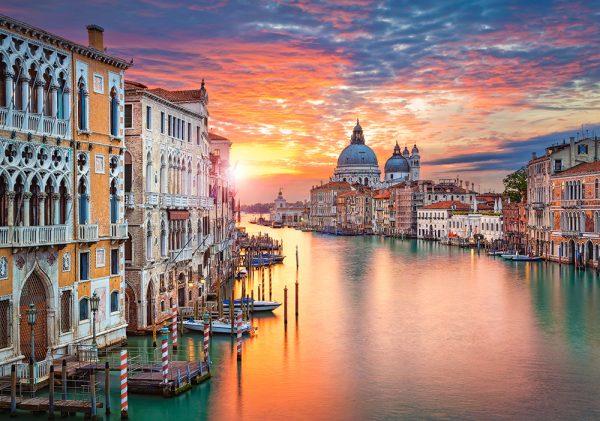 Castorland52479 Venice At Sunset 01 Legpuzzels