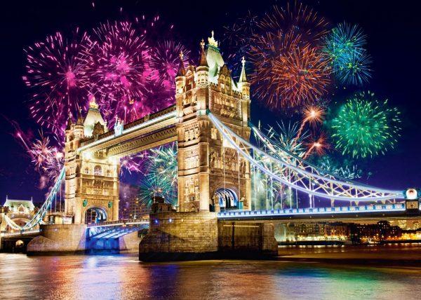 Castorland52592 Tower Bridge England 01 Legpuzzels