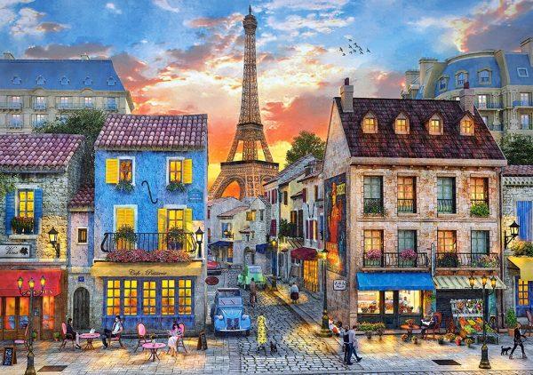 Castorland52684 Streets Of Paris 01 Legpuzzels