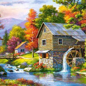 Castorland52691 Old Sutter S Mill 01 Legpuzzels