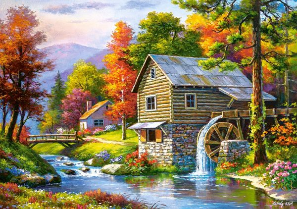 Castorland52691 Old Sutter S Mill 01 Legpuzzels