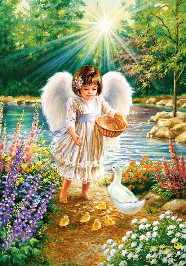 Castorland52844 An Angel S Warmth 01 Legpuzzels