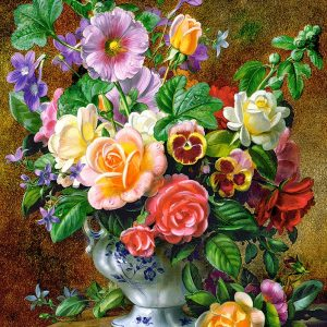 Castorland52868 Flowers In A Vase 01 Legpuzzels