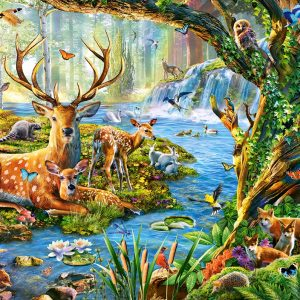 Castorland52929 Forest Life 01 Legpuzzels