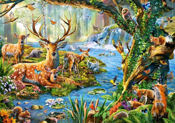 Castorland52929 Forest Life 01 Legpuzzels