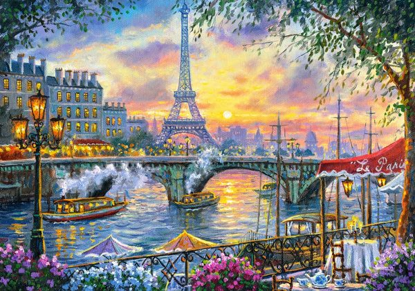 Castorland53018 Tea Time In Paris 01 Legpuzzels