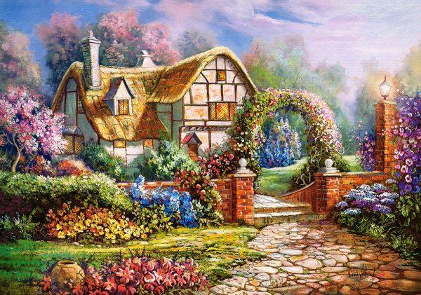 Castorland53032 Wiltshire Gardens 01 Legpuzzels
