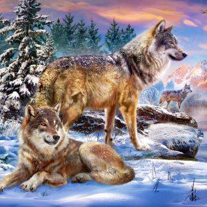 Castorland53049 Wolfish Wonderland 01 Legpuzzels